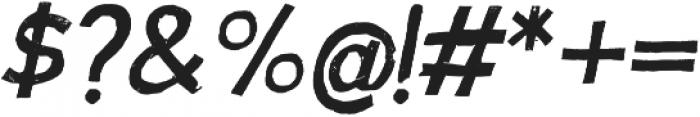 Australia Skate Italic otf (400) Font OTHER CHARS