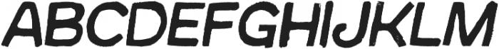 Australia Skate Italic otf (400) Font LOWERCASE