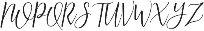 Australis Italic otf (400) Font UPPERCASE