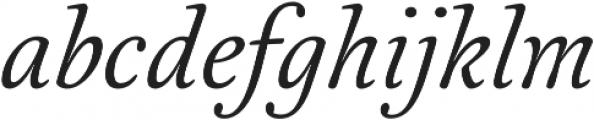 Australis Pro otf (400) Font LOWERCASE