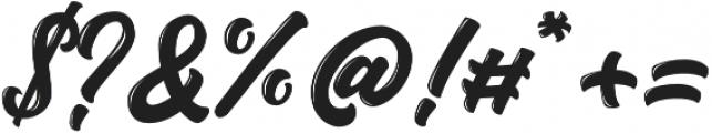 Austten otf (400) Font OTHER CHARS
