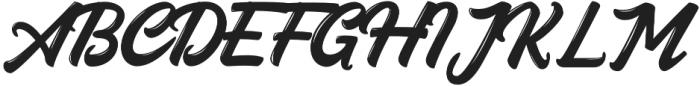 Austten otf (400) Font UPPERCASE