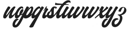 Authem Regular otf (400) Font LOWERCASE
