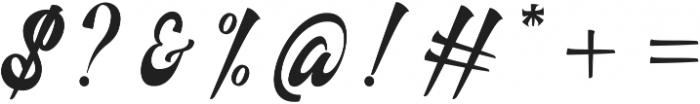 Authem Regular ttf (400) Font OTHER CHARS