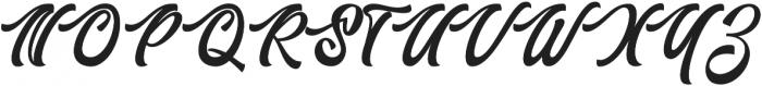 Authem Regular ttf (400) Font UPPERCASE