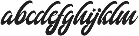 Authem Regular ttf (400) Font LOWERCASE