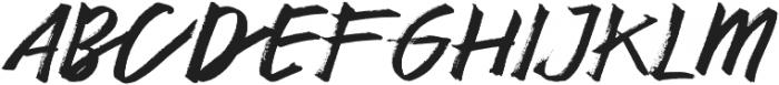 Authen  otf (400) Font UPPERCASE
