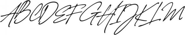 Authentic Handwritten Font otf (400) Font UPPERCASE
