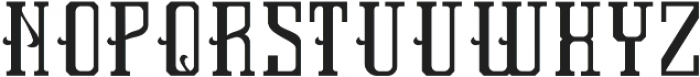 AuthenticFont Base otf (400) Font UPPERCASE