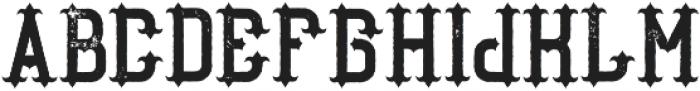 AuthenticWhiskey Aged otf (400) Font UPPERCASE