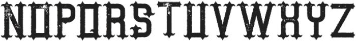 AuthenticWhiskey Aged otf (400) Font LOWERCASE