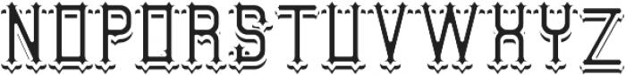 AuthenticWhiskey InAndShadowFX otf (400) Font LOWERCASE