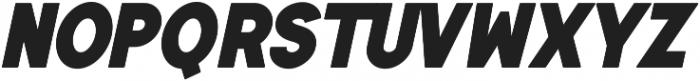 Authentico Italic ttf (400) Font LOWERCASE