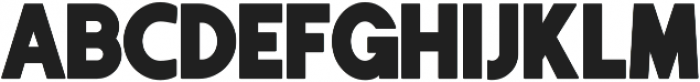 Authentico Regular ttf (400) Font UPPERCASE