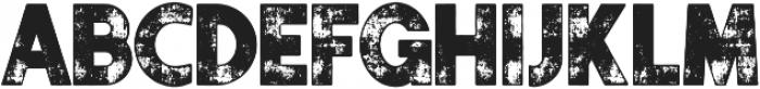 Authentico Rough Regular ttf (400) Font LOWERCASE