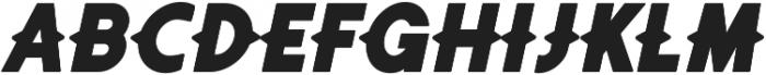 Authentico Spurred Italic ttf (400) Font LOWERCASE