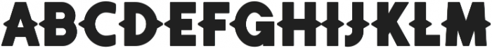 Authentico Spurred Regular ttf (400) Font LOWERCASE