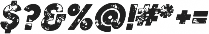 Authentico Spurred Rough Italic ttf (400) Font OTHER CHARS