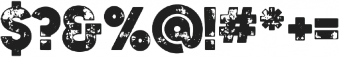 Authentico Spurred Rough Regular ttf (400) Font OTHER CHARS