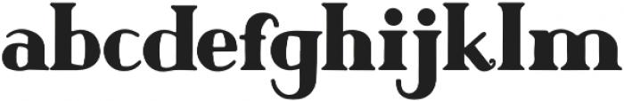 Author Junior Plain otf (400) Font LOWERCASE