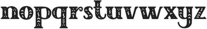 Author Junior otf (400) Font LOWERCASE