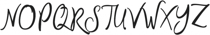 Author Regular otf (400) Font UPPERCASE