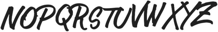 Author Type Regular otf (400) Font UPPERCASE