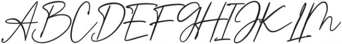 Authorians otf (400) Font UPPERCASE