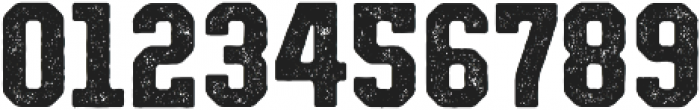 Authority Distressed ttf (400) Font OTHER CHARS