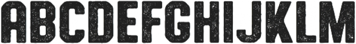 Authority Distressed ttf (400) Font LOWERCASE