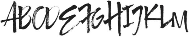 Authority Regular otf (400) Font UPPERCASE