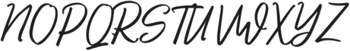 AuthorizedSignature-Regular otf (400) Font UPPERCASE