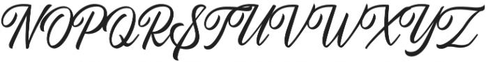 Autogate Regular otf (400) Font UPPERCASE