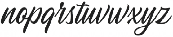 Autogate Regular otf (400) Font LOWERCASE