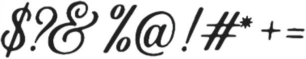 Autogate Rough otf (400) Font OTHER CHARS