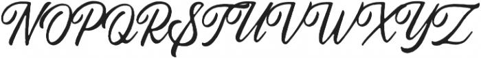 Autogate Rough otf (400) Font UPPERCASE