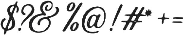 Autogate Stamp otf (400) Font OTHER CHARS