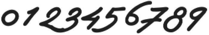 Autograf otf (400) Font OTHER CHARS