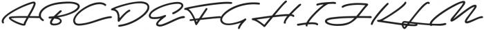 Autograf otf (400) Font UPPERCASE