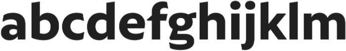Autor ExtraBold otf (700) Font LOWERCASE