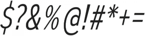 Autoradiographic Light Italic otf (300) Font OTHER CHARS