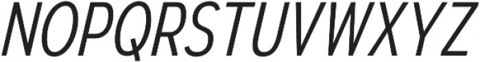 Autoradiographic Light Italic otf (300) Font UPPERCASE