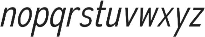 Autoradiographic Light Italic otf (300) Font LOWERCASE