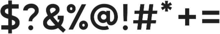 Autorich Sans ttf (400) Font OTHER CHARS