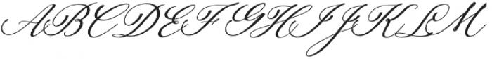 Auttan Italic Italic otf (400) Font UPPERCASE