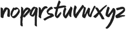 Auttera otf (400) Font LOWERCASE