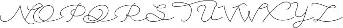 Autumn Chant otf (400) Font UPPERCASE