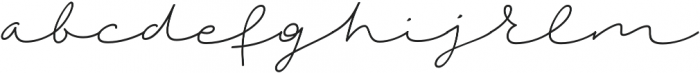 Autumn Chant otf (400) Font LOWERCASE