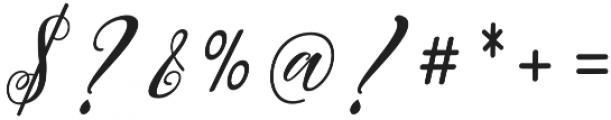 Autumn Script otf (400) Font OTHER CHARS