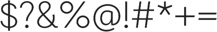 Auxilia otf (300) Font OTHER CHARS
